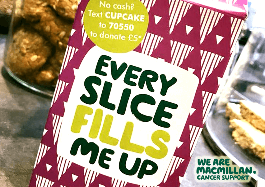 fundraising macmillan cancer supprt bart's cafe