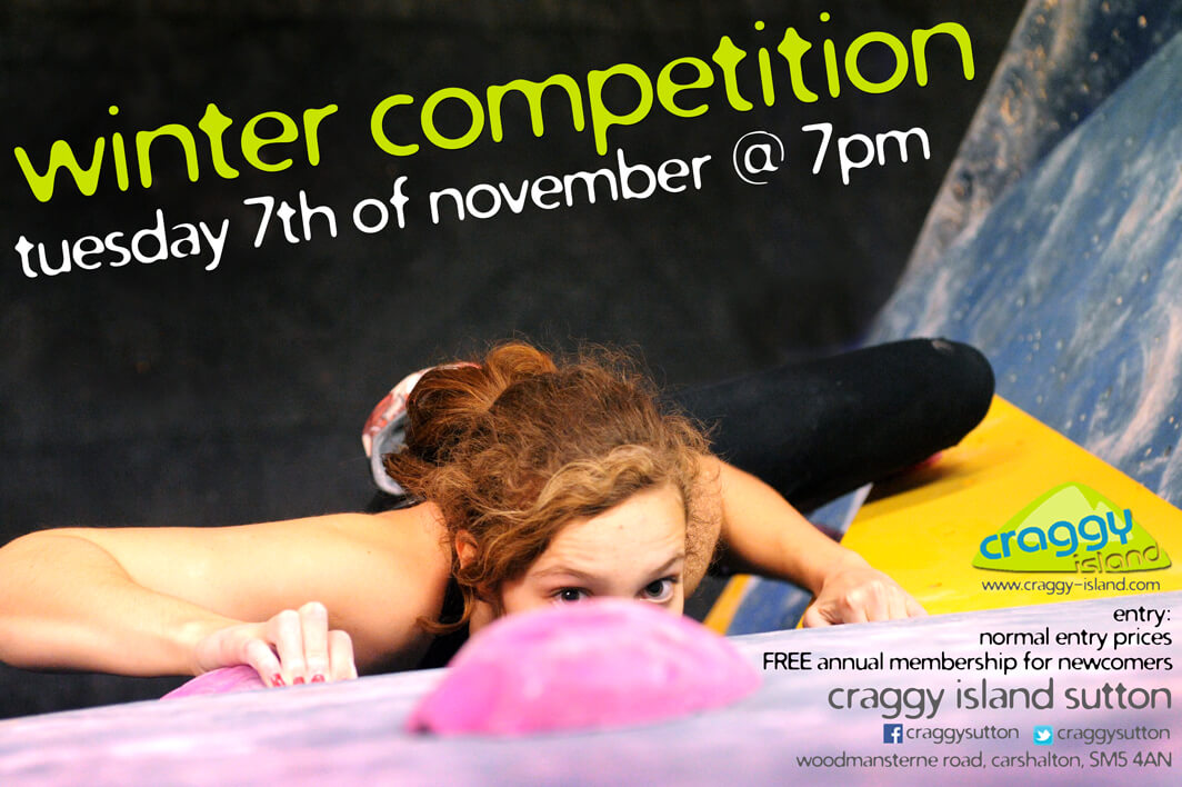 bouldering competition sutton